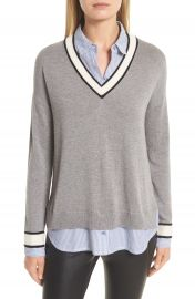 Joie Belva Layered Look Sweater at Nordstrom