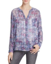 Joie Brigid C Printed Silk Shirt at Bloomingdales