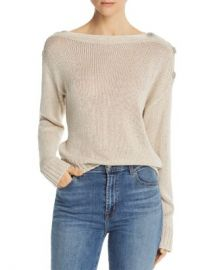 Joie Burrell Button-Detail Sweater Women - Bloomingdale s at Bloomingdales