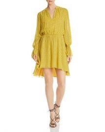 Joie Daevon Dotted-Silk Dress Women - Bloomingdale s at Bloomingdales