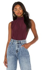 Joie Eadlin Top in Deep Wine from Revolve com at Revolve