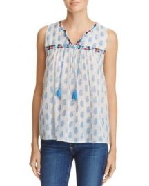 Joie Ernesta Embroidered Top - 100  Exclusive at Bloomingdales