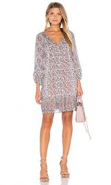 Joie Foxley Shift Silk Dress in Vintage Petal from Revolve com at Revolve
