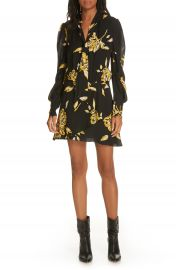 Joie Gyan Floral Silk Dress   Nordstrom at Nordstrom
