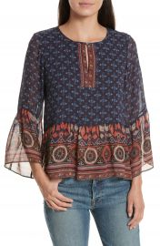Joie Hakima Silk Top at Nordstrom