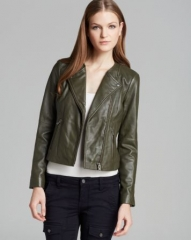 Joie Jacket - Darnell Leather at Bloomingdales