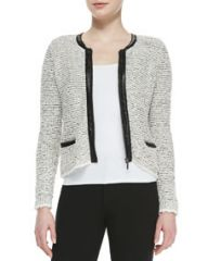 Joie Jacolyn B Tweed Jacket at Neiman Marcus