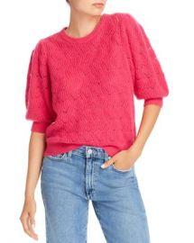 Joie Jenise Wool-Blend Pointelle Sweater Women - Bloomingdale s at Bloomingdales