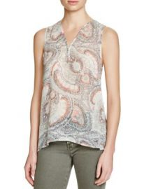 Joie Joaquin Silk Top at Bloomingdales