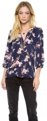 Joie Kade B Blouse in navy at Shopbop