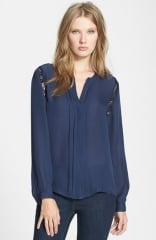 Joie Keyanna Silk Blouse at Nordstrom