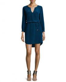 Joie Ksora Printed Silk Dress at Neiman Marcus