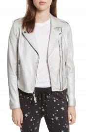 Joie Leolani Leather Jacket at Nordstrom