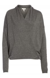 Joie Lien Faux Wrap Sweater at Nordstrom