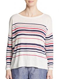 Joie Maine Striped top at Saks Off 5th
