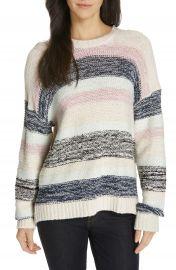 Joie Marelda Stripe Oversize Sweater at Nordstrom