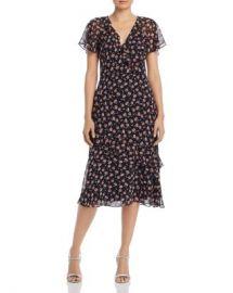 Joie Orita B Floral-Silk Dress Women - Bloomingdale s at Bloomingdales