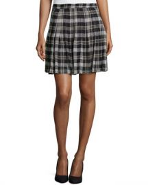 Joie Plaid Skirt at Last Call