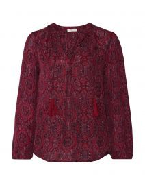 Joie Printed Blouse at Yoox