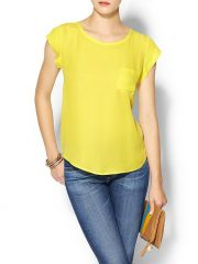 Joie Rancher top in Citrine at Piperlime