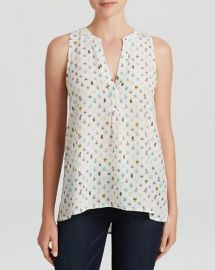 Joie Tank - Aruna Mini Bugs Printed Silk at Bloomingdales