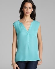 Joie Vanitra Tank in Neon Jade at Bloomingdales