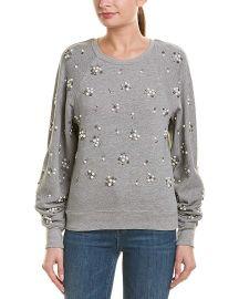 Joie Womens Jesiah Sweatshirt  M  Grey at Amazon