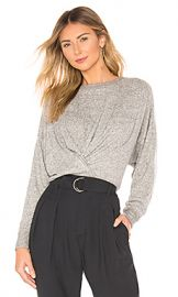 Joie Yerrick Pullover in Heather Grey from Revolve com at Revolve
