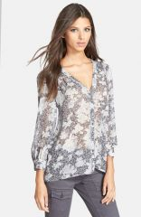 Joie and39Cordiaand39 Print Silk Blouse at Nordstrom