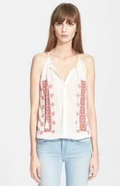 Joie and39Danelle Cand39 Embroidered Cotton Top at Nordstrom