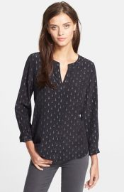 Joie and39Hanelliand39 Print Silk Blouse at Nordstrom
