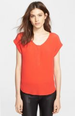 Joie and39Narnieand39 Blouse in Spicy Orange at Nordstrom