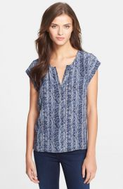 Joie and39Nikalaand39 Silk Top at Nordstrom