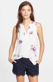 Joie and39Senia Band39 Silk Top at Nordstrom