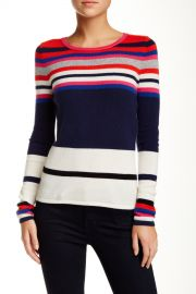 Jolanta Printed Wool Blend Sweater at Nordstrom Rack