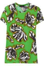 Jonathan Saunders Floral Top at The Outnet