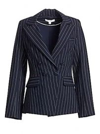 Jonathan Simkhai - Pinstripe Tailor-Fit Blazer at Saks Fifth Avenue