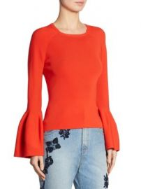 Jonathan Simkhai Bell Sleeve Sweater at Saks Off 5th