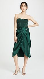 Jonathan Simkhai Bustier Combo Dress at Shopbop