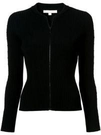 Jonathan Simkhai Cut Out Sleeve Zipped Sweater - Farfetch at Farfetch