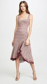 Jonathan Simkhai Lace Open Slit Bustier Dress at Shopbop