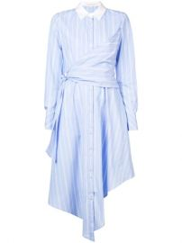 Jonathan Simkhai Striped long-sleeve Dress - Farfetch at Farfetch