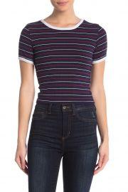 Jones Brooklyn Stripe Rib T-Shirt at Nordstrom Rack