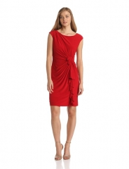 Jones New York Rosette Dress at Amazon