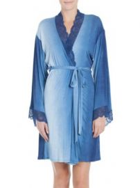Jonquil - Stormy Skies Wrapper Robe at Saks Off 5th
