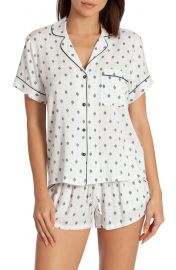 Jonquil In Bloom Satin Short Pajamas at Nordstrom