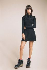 JoosTricot Long Sleeve Ruffle Dress at JoosTricot