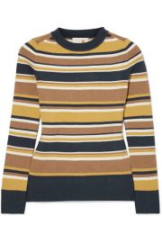JoosTricot - Striped stretch cotton-blend sweater at Net A Porter
