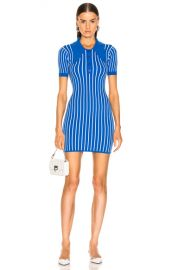 JoosTricot Polo Dress in Blue   White   FWRD at Forward