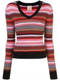 Joostricot striped ribbed knit jumper at Farfetch